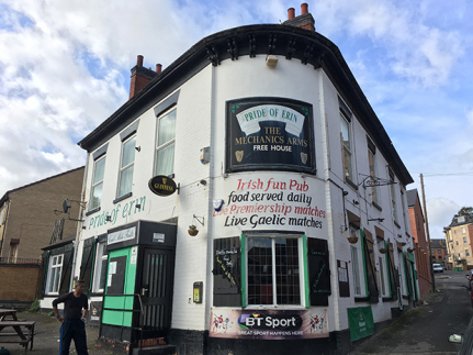 Nottingham Pub Up For Sale - and could be turned into flats news item
