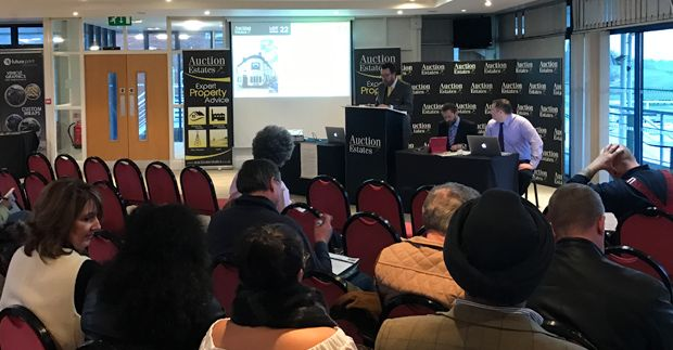 Auction Estates first sale raises over £1.7m with 70% success rate news item