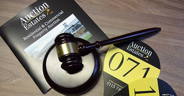 AUCTION ESTATES THIRD SALE RAISES £3.2m WITH 83% SUCCESS RATE news item