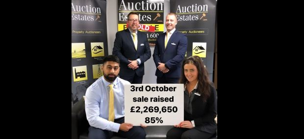 IN SPITE OF THE BREXIT DEADLINE, THE OCTOBER AUCTION RAISES £2,269,650 (85% success rate) news item