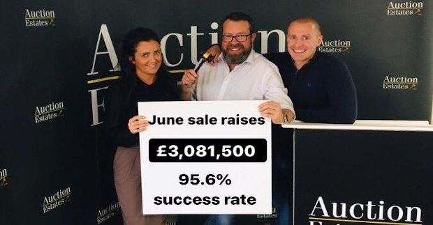18th June Auction Raises £3,081,500 with a 95.6% success rate! news item
